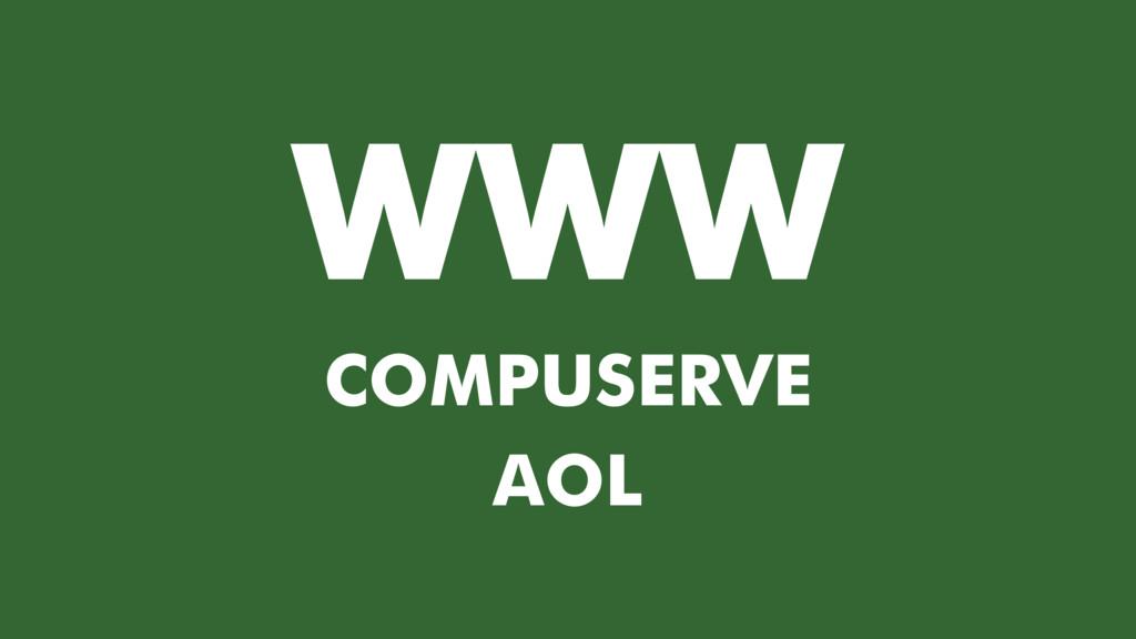 WWW COMPUSERVE AOL