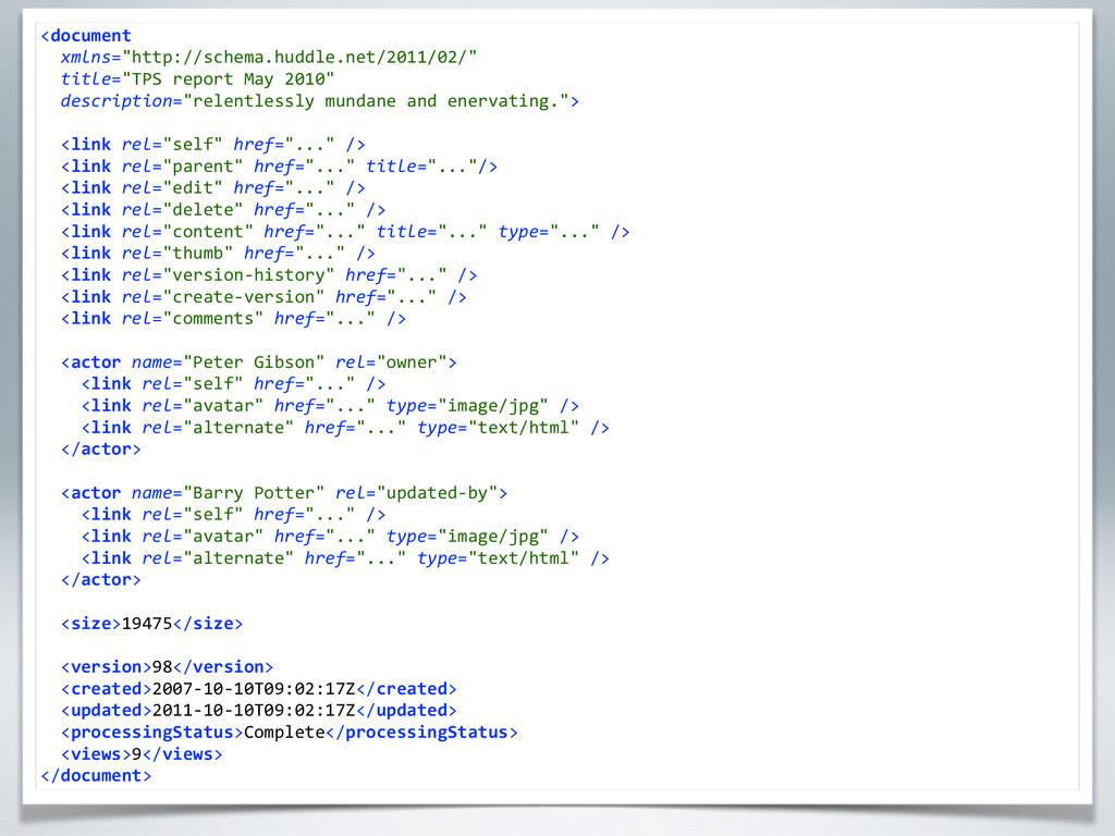 """<document    xmlns=""""http://schema.hudd..."""