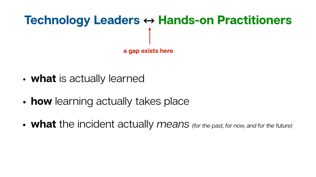 Technology Leaders 㲗 Hands-on Practitioners • w...