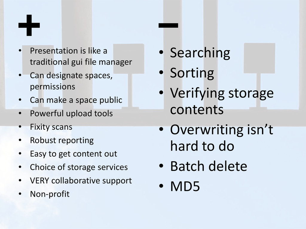 • Presentation is like a traditional gui file m...