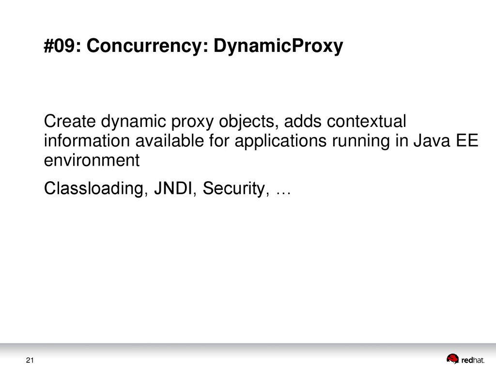 21 #09: Concurrency: DynamicProxy Create dynami...