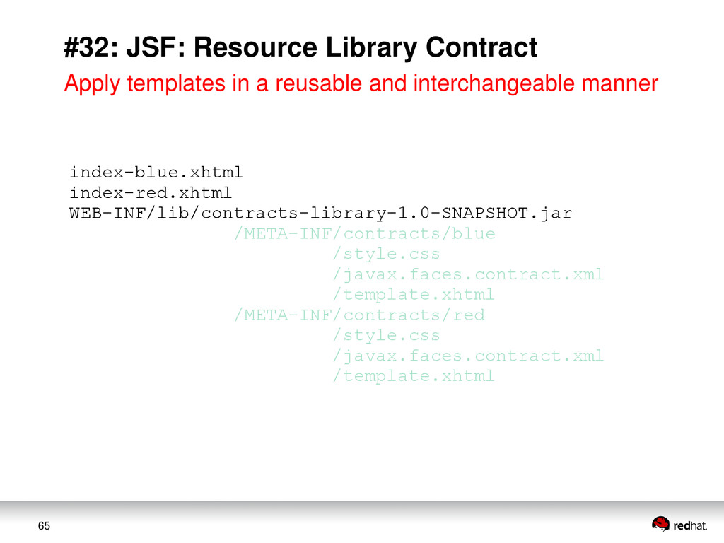 65 #32: JSF: Resource Library Contract index-bl...