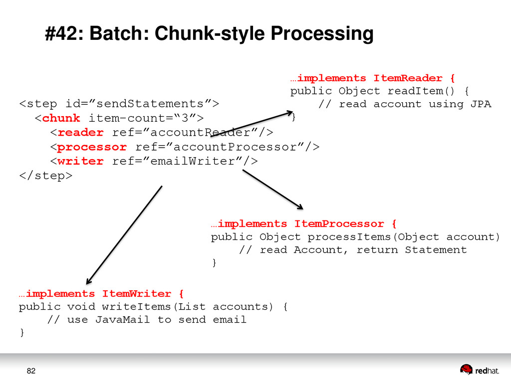 82 #42: Batch: Chunk-style Processing <step id=...
