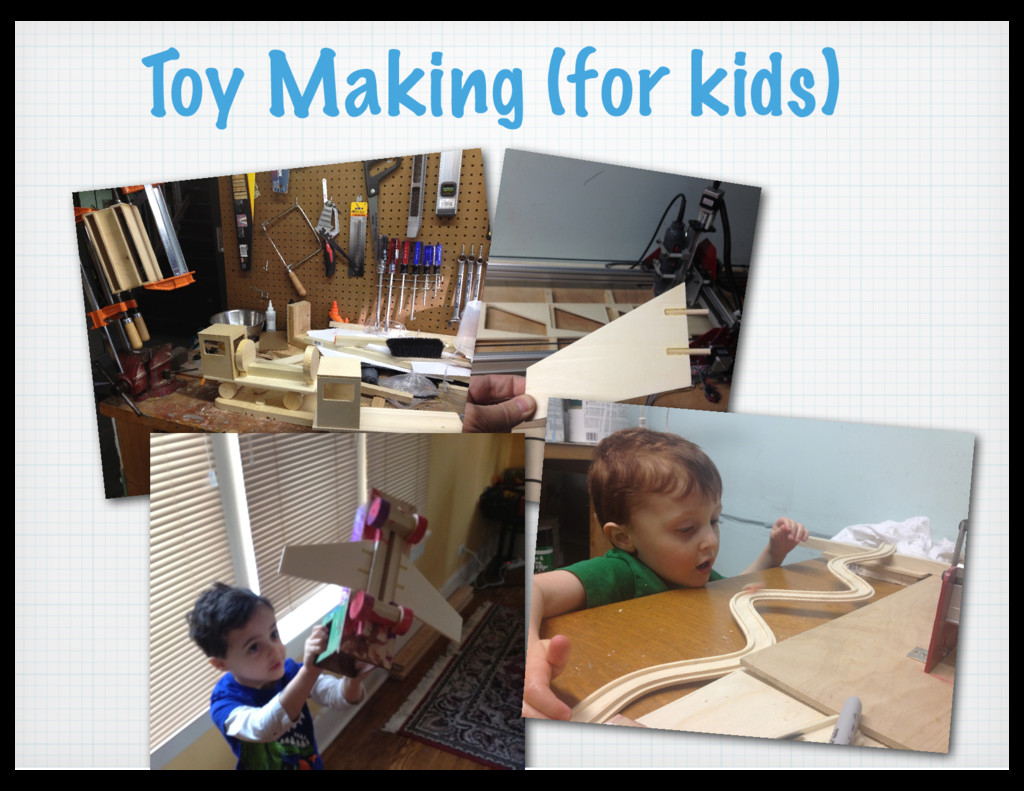 Toy Making (for kids)