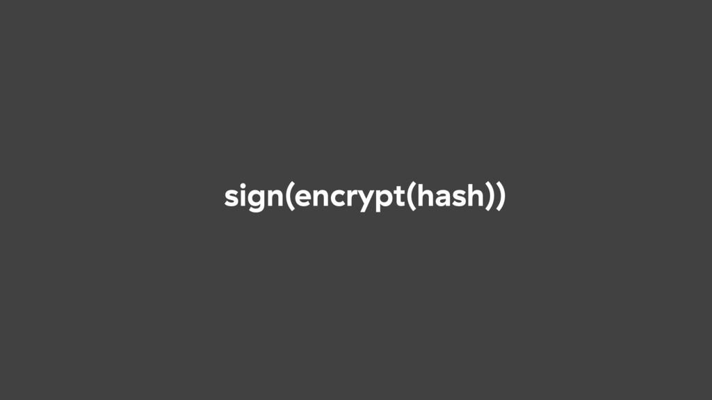 sign(encrypt(hash))