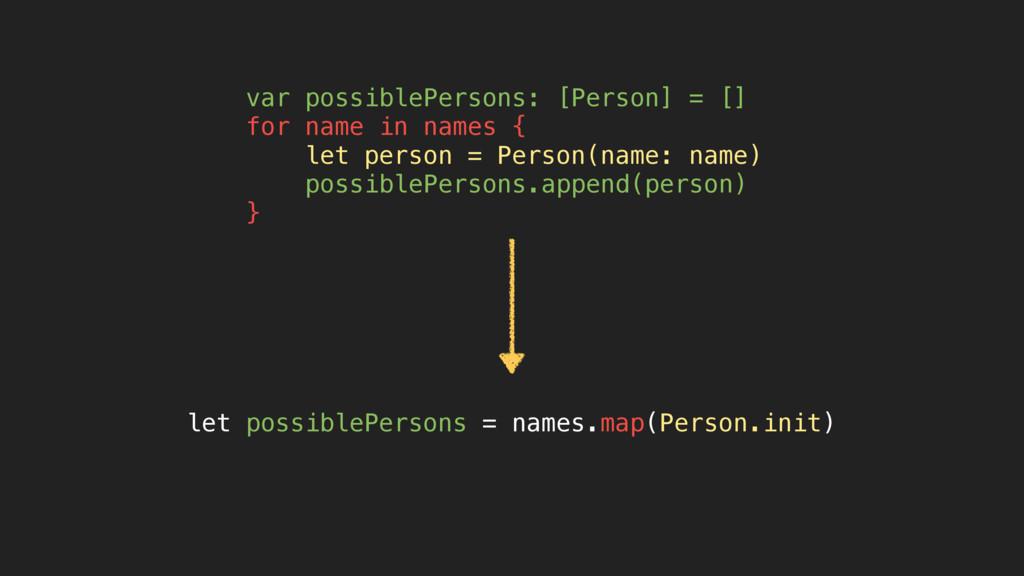 let possiblePersons = names.map(Person.init) va...