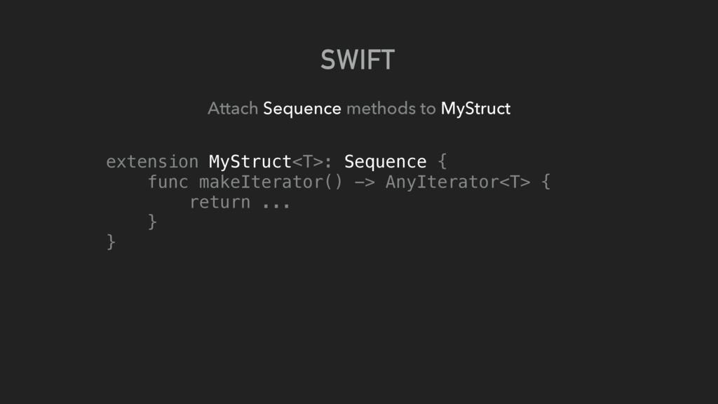 SWIFT Attach Sequence methods to MyStruct exten...