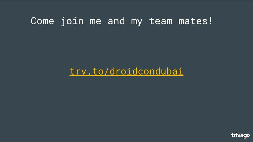 Come join me and my team mates! trv.to/droidcon...