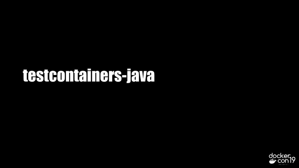 testcontainers-java