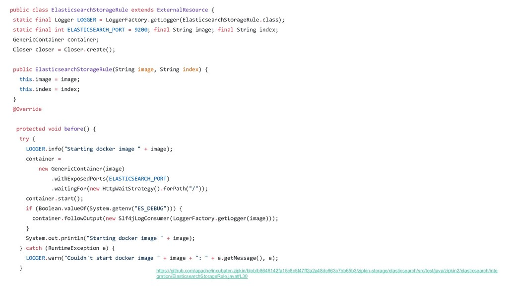 public class ElasticsearchStorageRule extends E...