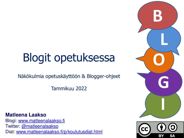 I G Matleena Laakso Blogi: www.matleenalaakso.f...