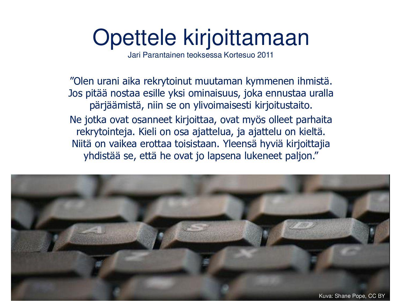 Blogi ammatillisen kasvun portfoliona Salon seu...