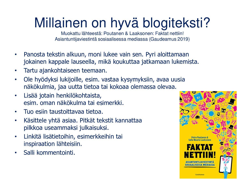 Matleenan blogi www.matleenalaakso.fi Syntyi 20...