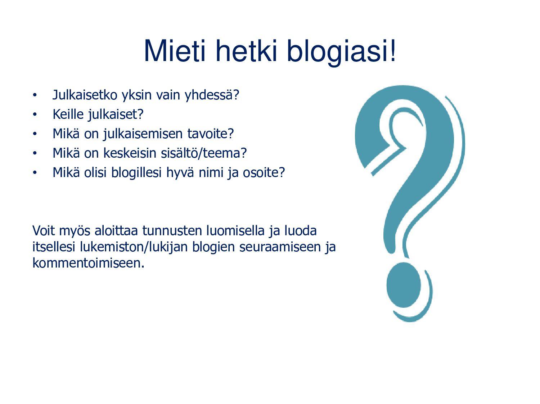 Matleenan blogin suosituimmat julkaisut www.mat...