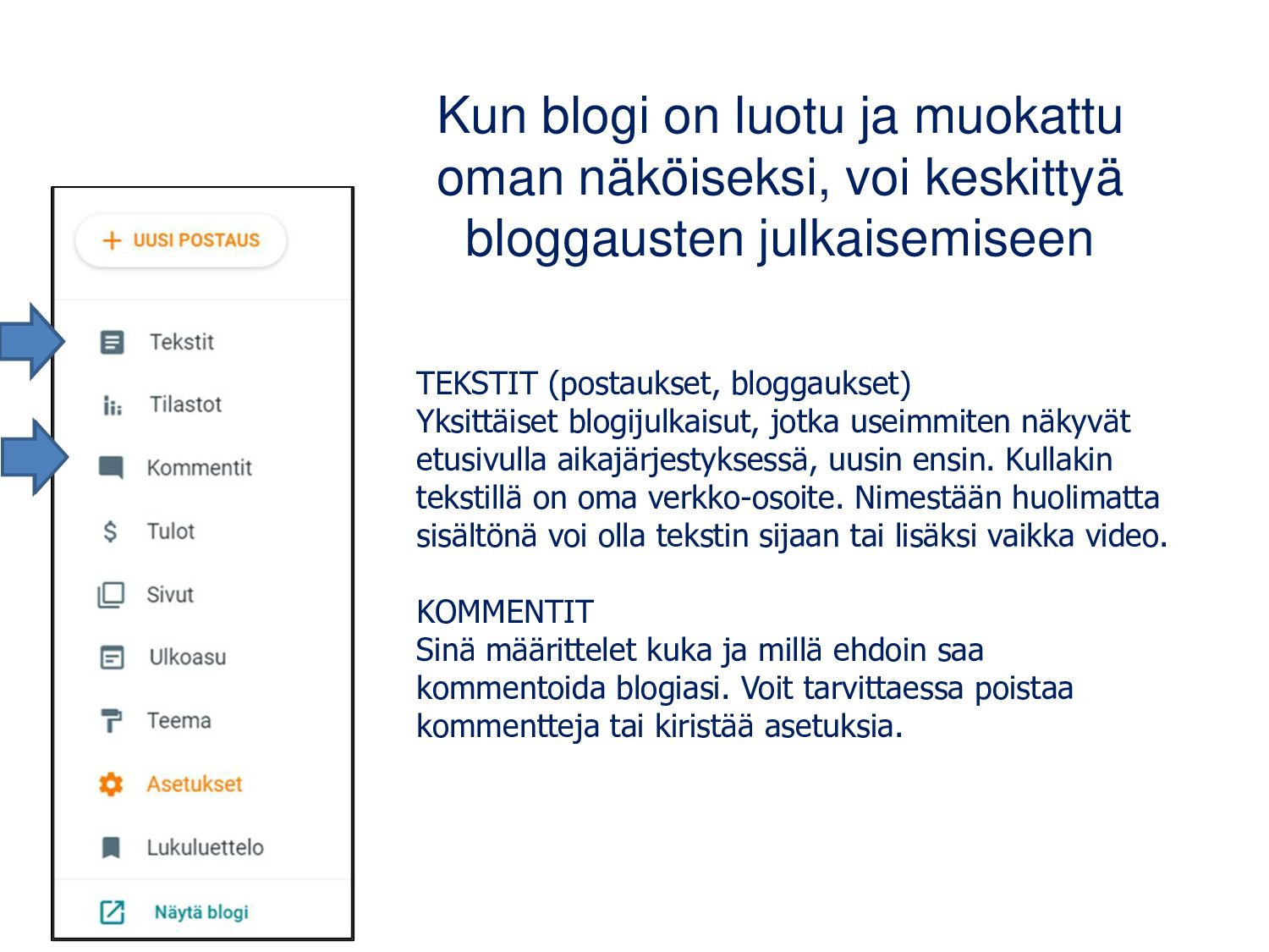 WordPress: sivut • s
