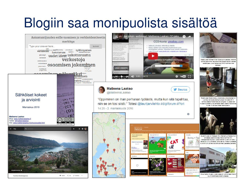 Videoblogit ja tubettaminen • Blogi, jossa julk...