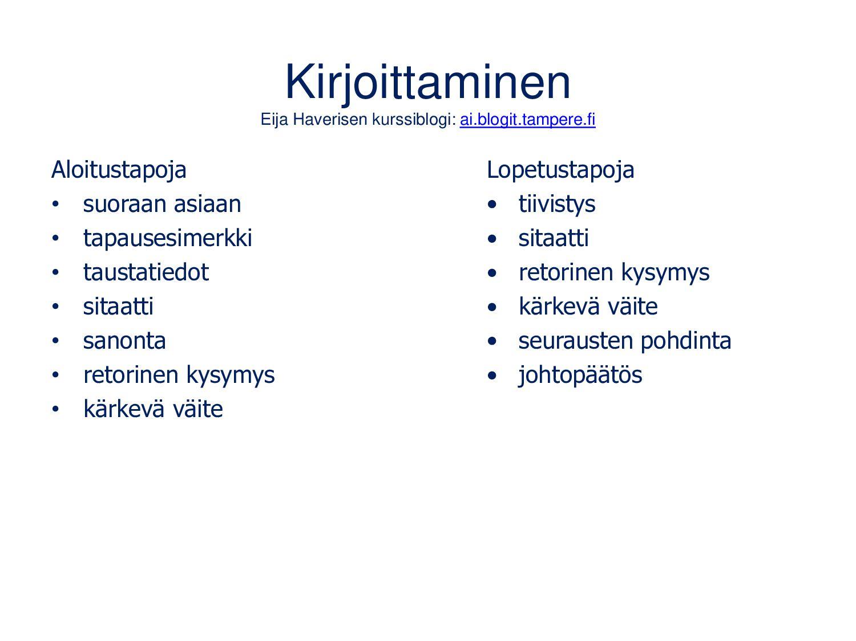 Kuvien saavutettavuus Lähde: www.celia.fi/saavu...
