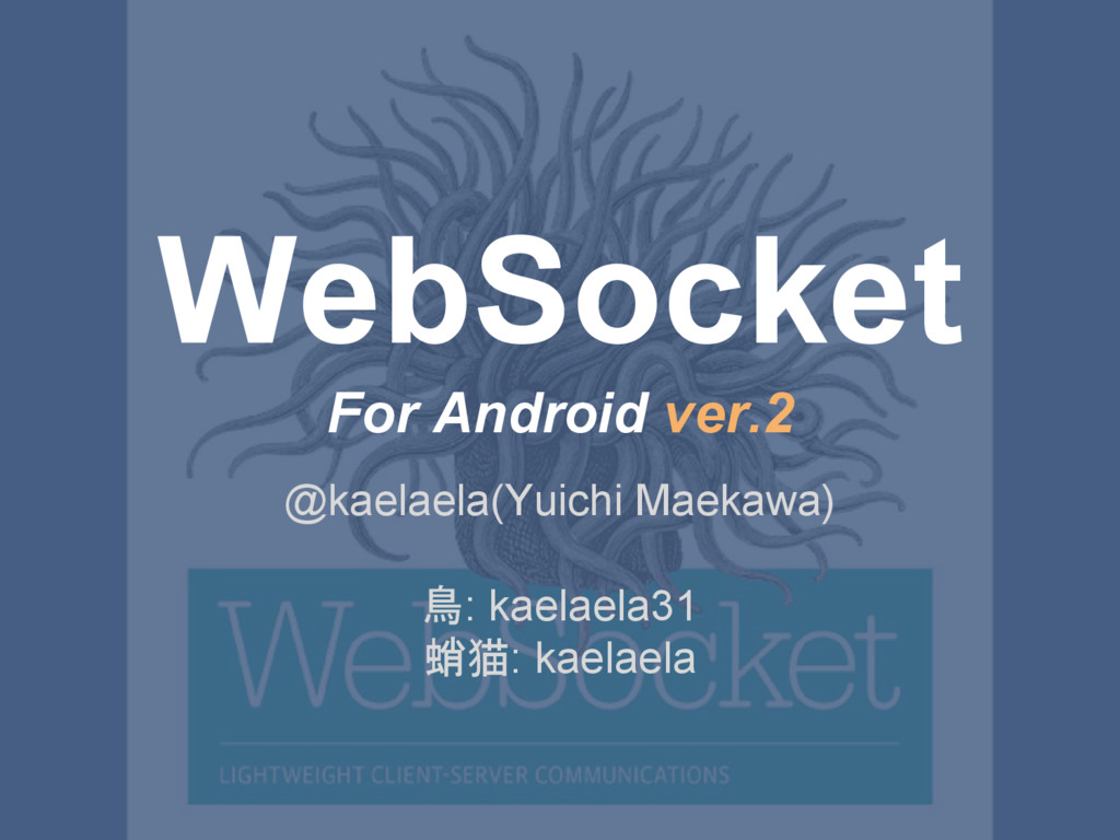 WebSocket For Android ver.2 @kaelaela(Yuichi Ma...