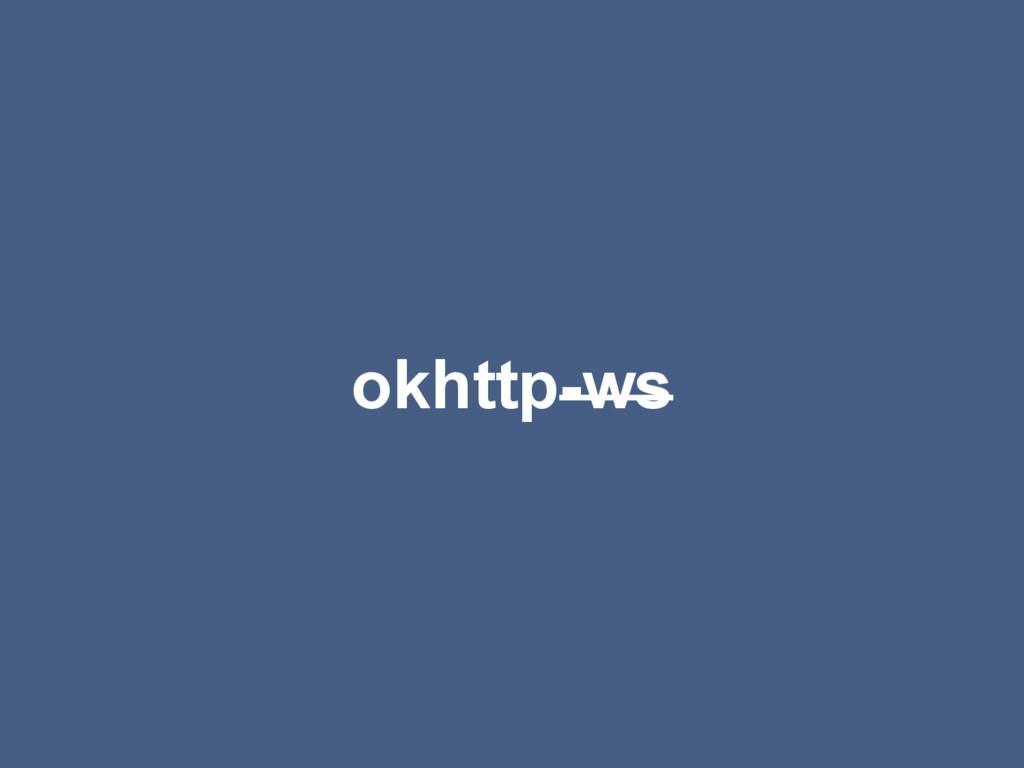 okhttp-ws
