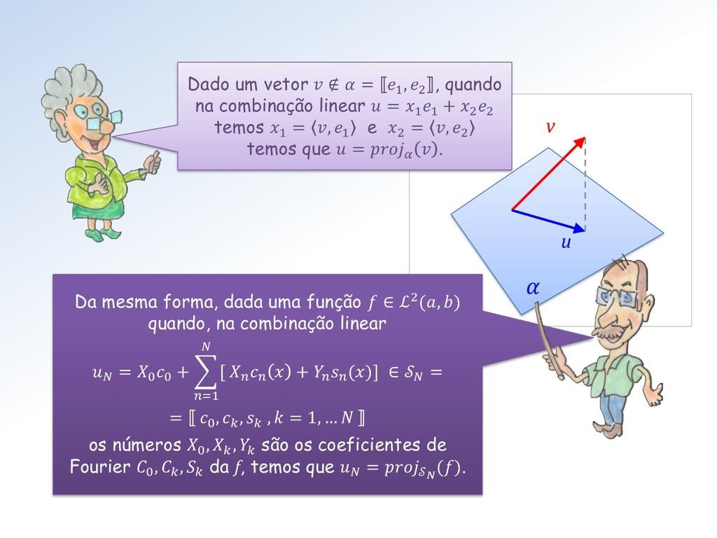 u v  Da mesma forma, dada uma função  ∈ ℒ2(, ) ...