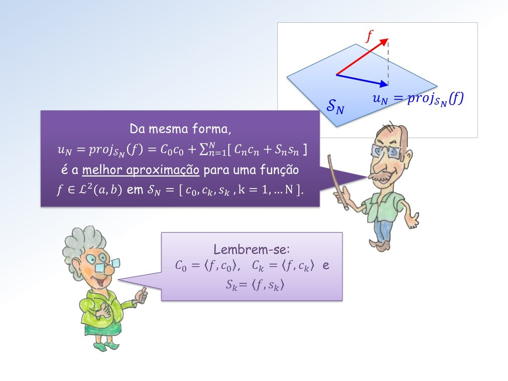 =  (f) f  Da mesma forma,  =   = 0 0 + σ=1  [ ...