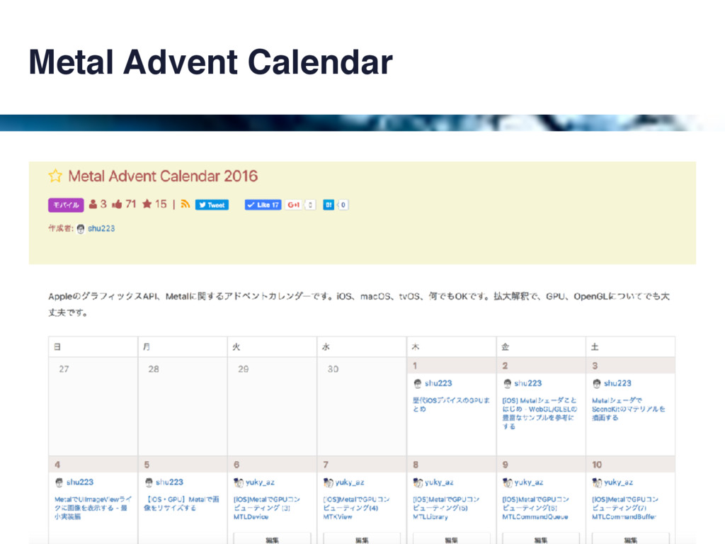 Metal Advent Calendar