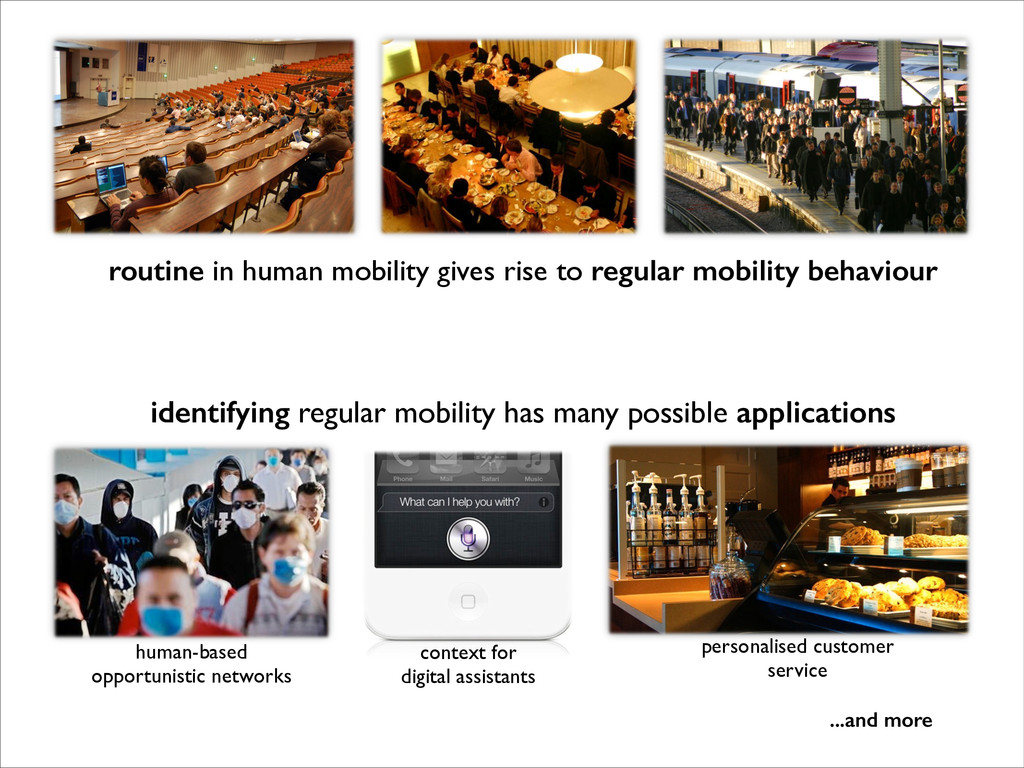 routine in human mobility gives rise to regular...