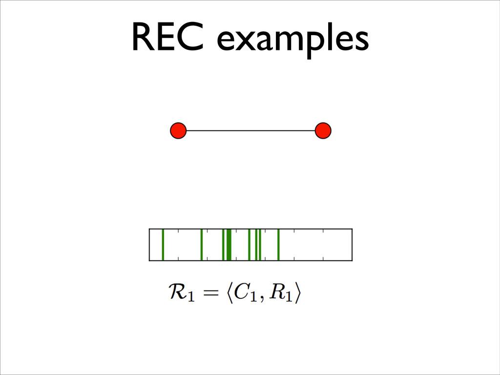 REC examples