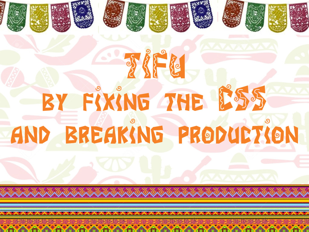 @klamping #UITesting TIFU by fixing the CSS and...