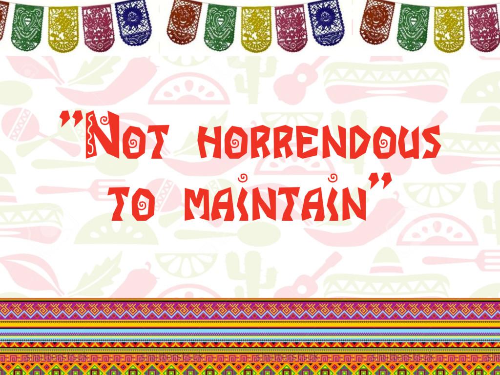 """@klamping #UITesting """"Not horrendous to maintai..."""