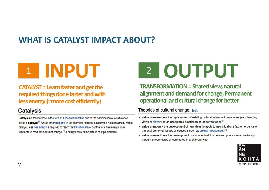 CATALYST = Learn faster and get the required th...