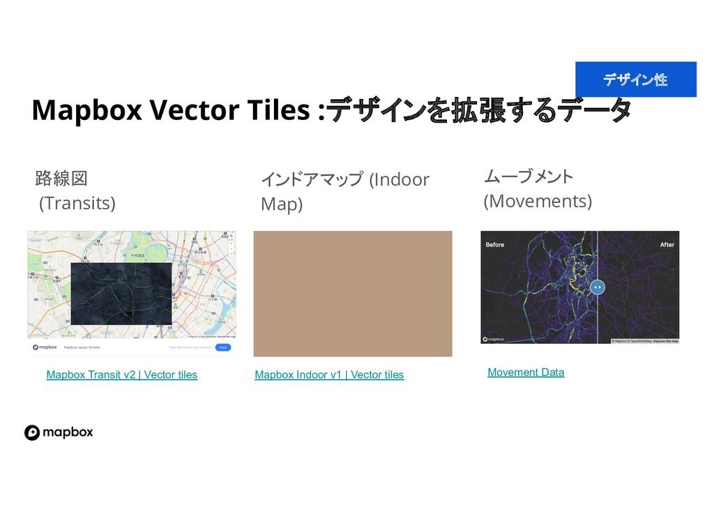 Mapbox Vector Tiles :デザインを拡張するデータ インドアマップ (Indo...