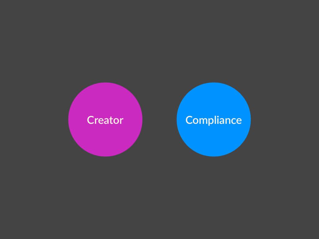 Compliance Creator