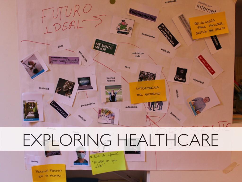EXPLORING HEALTHCARE