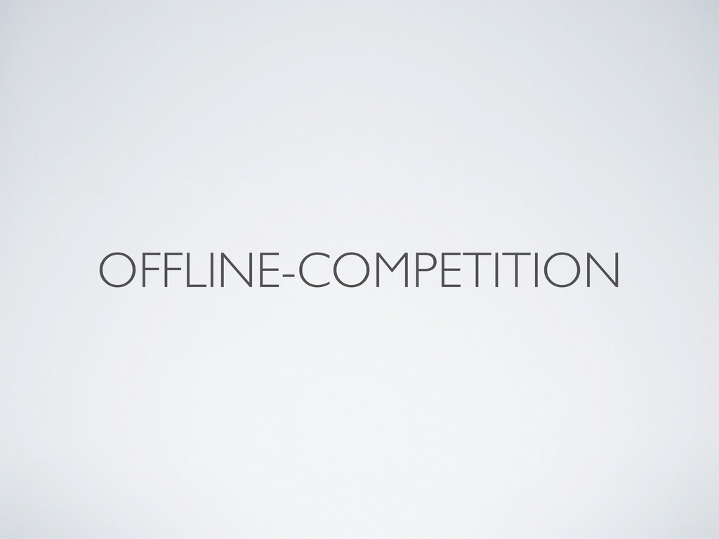 OFFLINE-COMPETITION