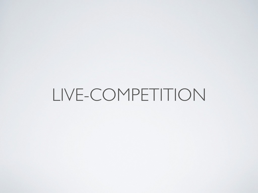 LIVE-COMPETITION