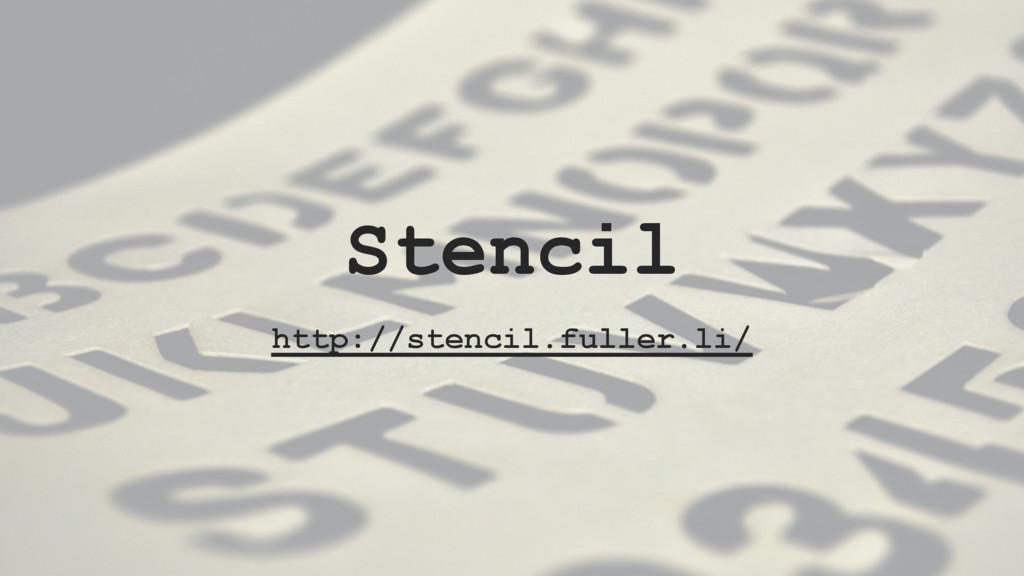 Stencil http://stencil.fuller.li/