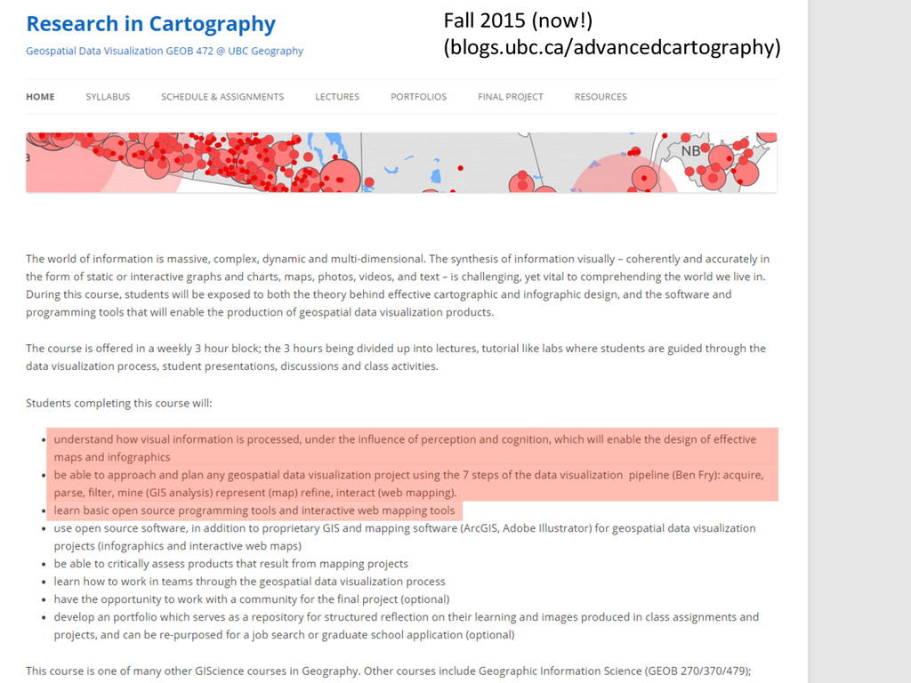 Fall 2015 (now!)  (blogs.ubc.ca/advanc...