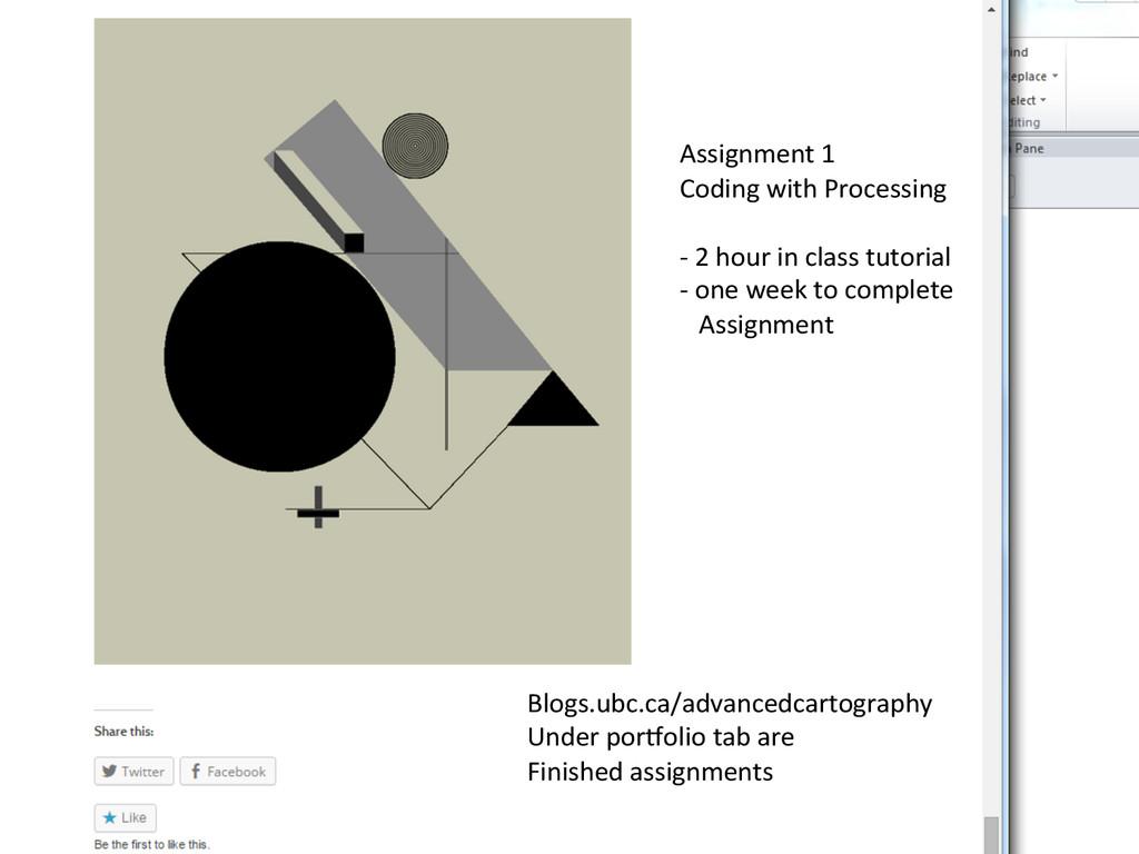 Blogs.ubc.ca/advancedcartography  Under p...