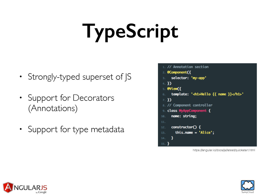 SunnyCloud TypeScript • Strongly-typed superset...