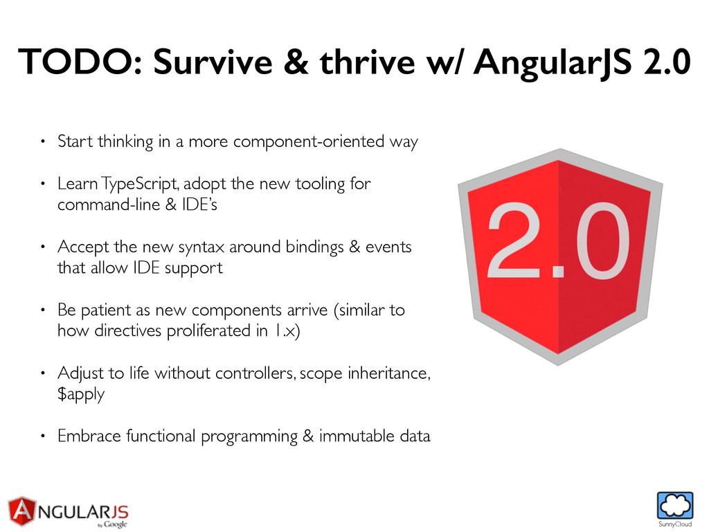 SunnyCloud TODO: Survive & thrive w/ AngularJS ...