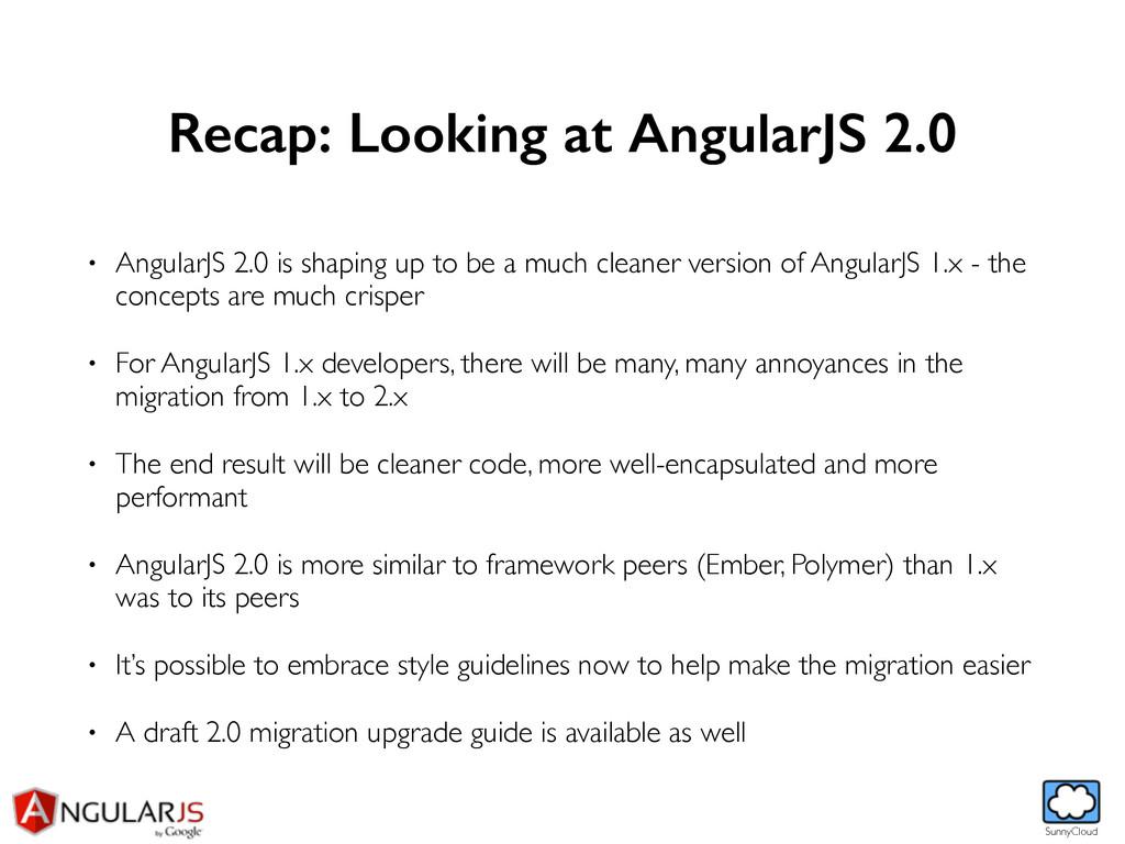SunnyCloud Recap: Looking at AngularJS 2.0 • An...