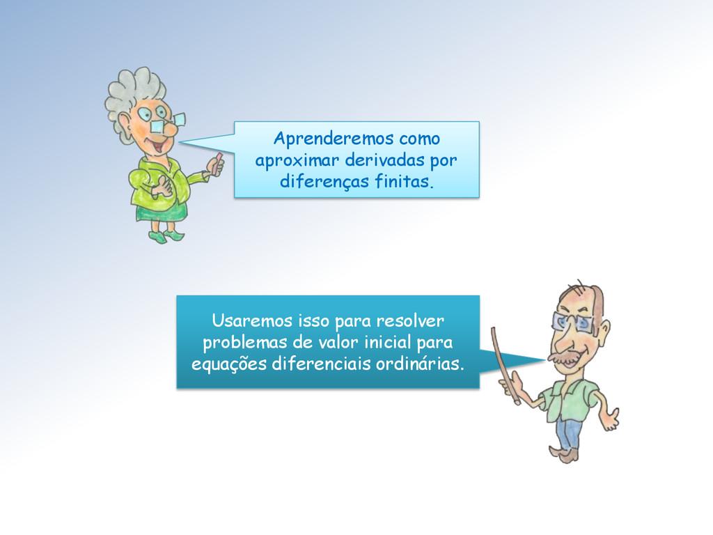 Aprenderemos como aproximar derivadas por difer...