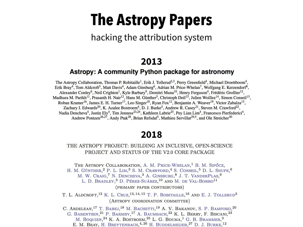 The Astropy Papers hacking the attribution syst...