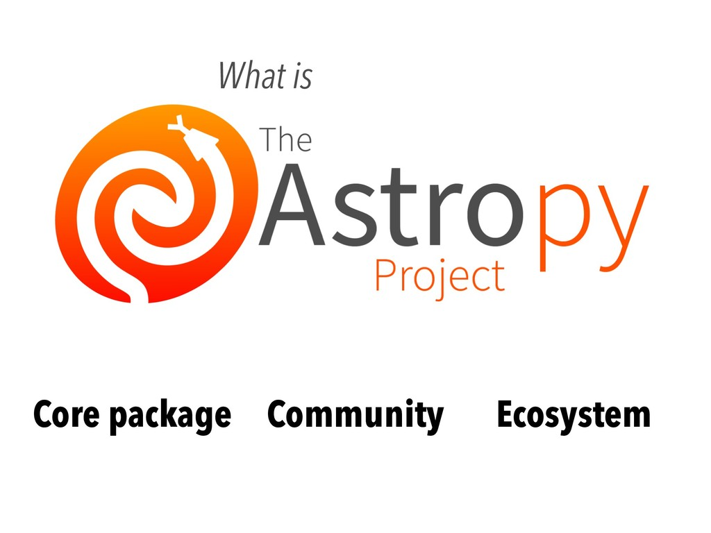 Core package What is Community Ecosystem