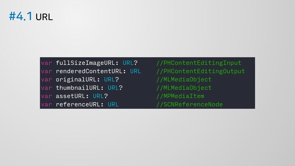 63- var fullSizeImageURL: URL? //PHContent...