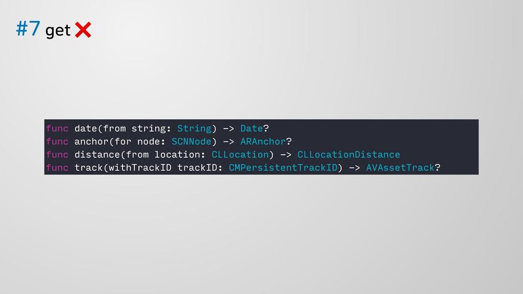 HFU❌ func date(from string: String) -> Date...