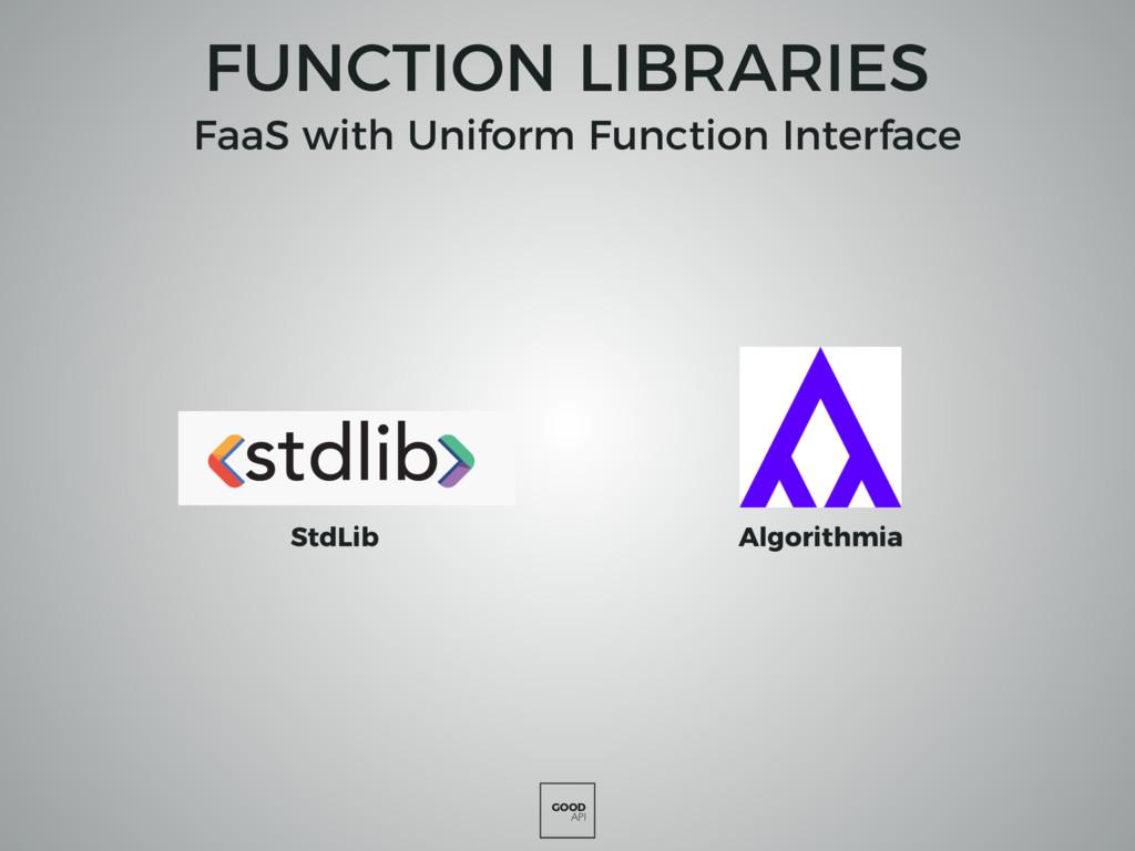 GOOD API FUNCTION LIBRARIES StdLib Algorithmia ...