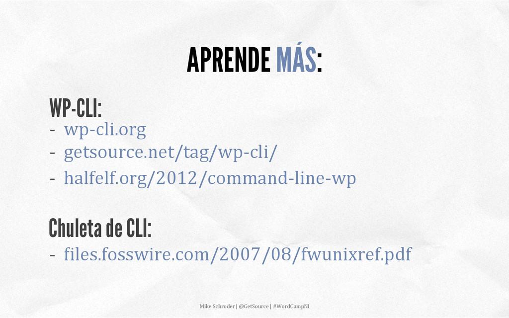 -‐  wp-‐cli.org  -‐ ...
