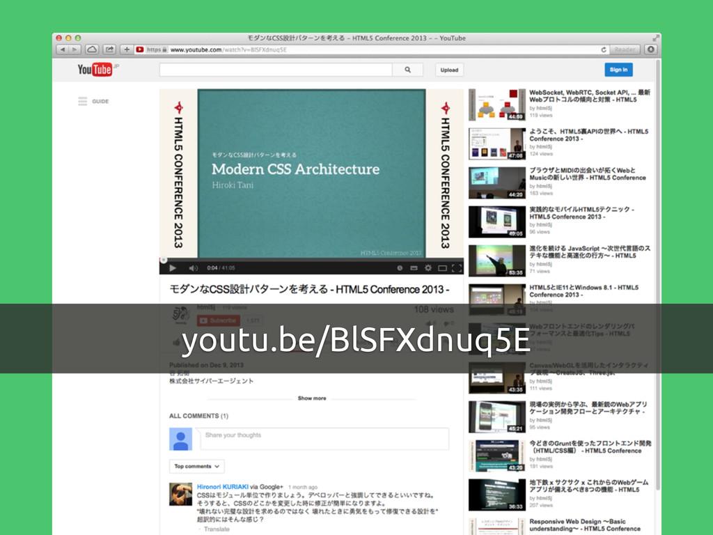 youtu.be/BlSFXdnuq5E
